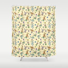 Circus Circus Shower Curtain