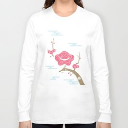 Plum and Dragon Long Sleeve T-shirt