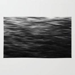 B&W Waves2 Rug