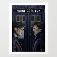 Wholock Art Print