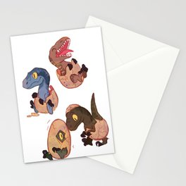 Raptor squad Stationery Cards