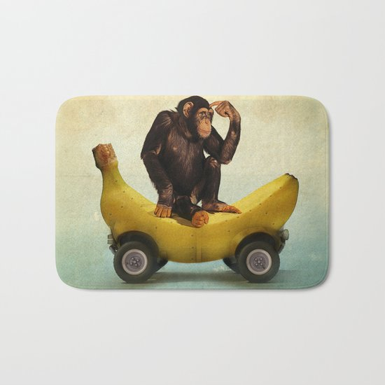 Chimp my Ride Bath Mat