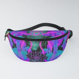 Jellyfish Warp Fanny Pack