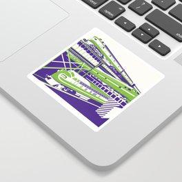 RVA Triple Crossing Sticker