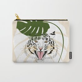 Tiger in hiding Carry-All Pouch