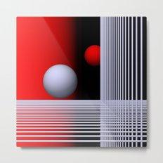 experiments on geometry -7- Metal Print