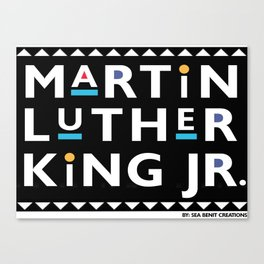 Martin Luther Payne Canvas Print