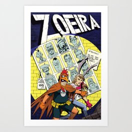 ZOEIRA: Days of future past Art Print