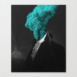 alternative reality - blue Canvas Print