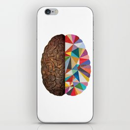 Geometric Brain iPhone Skin