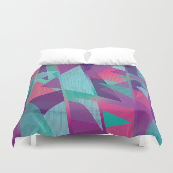 Geometric Abstraction Duvet Cover