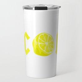 CITRIC ACID Travel Mug
