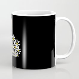 Daisy Cute Bunny With Blossom Coffee Mug