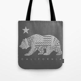 California grey Tote Bag
