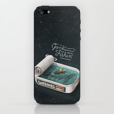 Gone Fishin' iPhone & iPod Skin