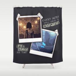 Strange Like That Shower Curtain