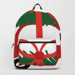 Christmas tree and  truck shirt Backpack