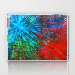 Abstract Big Bangs 001 Laptop & iPad Skin