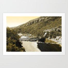 SA_ Art Print