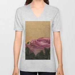 rosea rosa sine aqua Unisex V-Neck