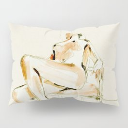nude woman 2 Pillow Sham