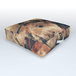 Horse Outdoor Floor Cushion