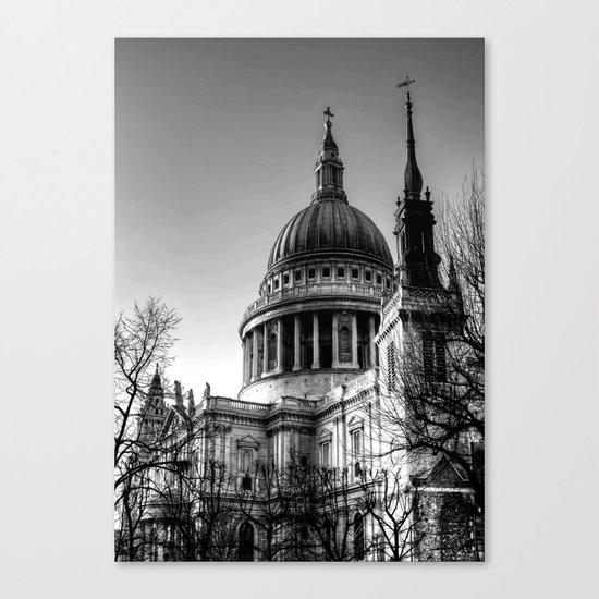 St Pauls, London Canvas Print