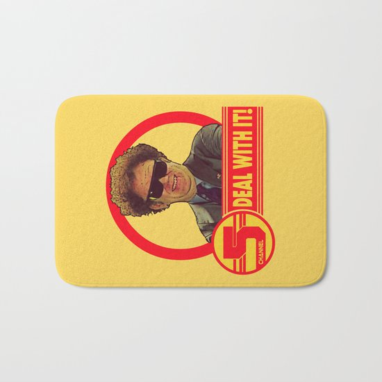 DEAL WITH IT!   Channel 5   Brule Bath Mat
