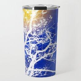 Blue Tree Art Travel Mug