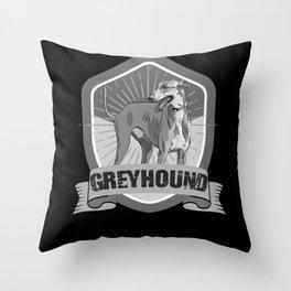 Greyhound, Greyhound galgo, Greyhound italian Throw Pillow