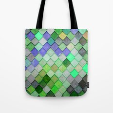 PRETTY - green palette Tote Bag
