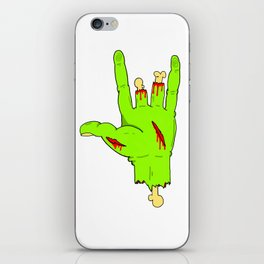 forced punk iPhone Skin