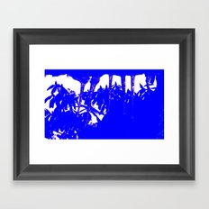 Harmony in Blue Framed Art Print
