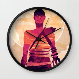 Furiosa is Furious Wall Clock
