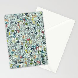 A1B2C3 ICE Stationery Cards