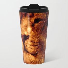 Cosmic Leo Lion Travel Mug