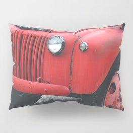 Vintage Fire Truck Pillow Sham