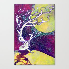 Longing for Luna Canvas Print