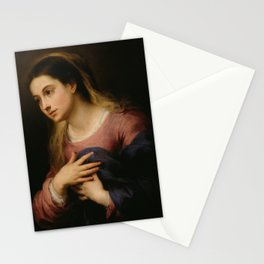 Bartolome Esteban Murillo - The Virgin of the Annunciation Stationery Cards