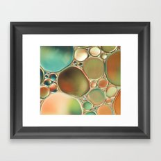 Pastel Abstraction #2 Framed Art Print