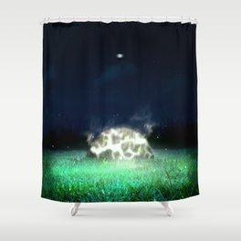 Resuming Shower Curtain