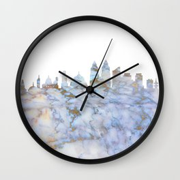 Mumbai Skyline India Wall Clock