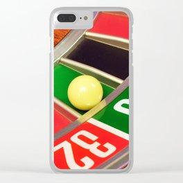 roulette game wheel Clear iPhone Case