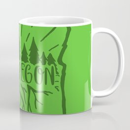 Exploregon (greens) Coffee Mug