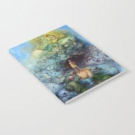 BLUE GOLD FANTASIA Notebook