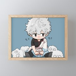 Gintama - Gintoki Sakata Cute Framed Mini Art Print