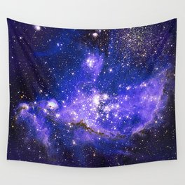 Infant Stars in Neighbouring Galaxy Wall Tapestry