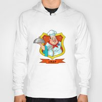 chef Hoodies featuring chef by Fargon