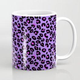 Bright Purple Leopard Spots Animal Print Pattern Coffee Mug