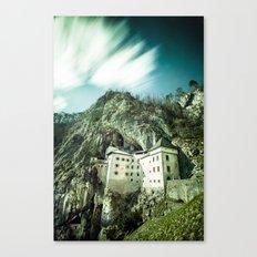 Majestic Predjama Castle Canvas Print